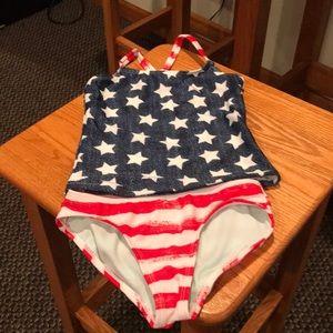 Girls bathing suit size 4-5